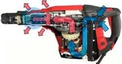 Hilti TE 70 ATC AVR перфоратор Хилти сетевой SDS Max расширенный контур охлаждения