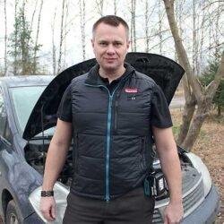Makita DCV200Z Жилет с подогревом