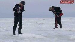тест буров для зимней рыбалки