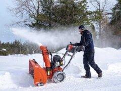 Снегоотбрасыватель Husqvarna ST 224 бензиновые снегоуборщики Хускварна