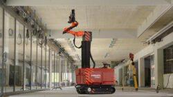 Хилти Hilti Jaibot робот полуавтономный строительная площадка