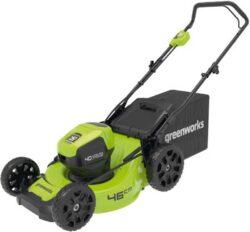 Greenworks GD40LM46HP аккумуляторная газонокосилка