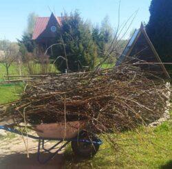 садовые ветки измельчитель