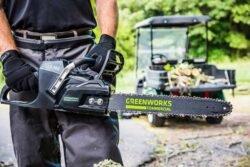 цепная пила Greenworks GC82CS25 отзывы
