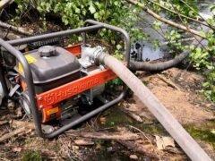 Husqvarna W50P мотопомпа Хускварна насос бензиновый водяной помпа