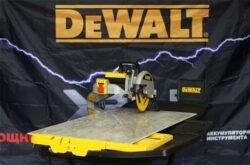 новинка DeWALT станок плиточный