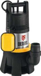 Дренажный насос для грязной воды Denzel DP1400X