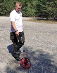 дорожное колесо измерительное тест отзывы