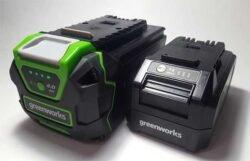 24 40 В Greenworks аккумулятор тест отзывы