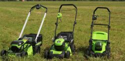Тест газонокосилок Greenwork